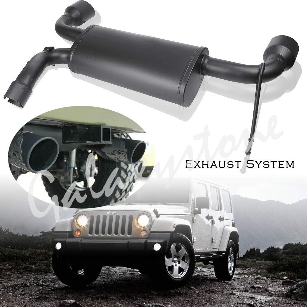 Stainless Steel Exhaust Muffler System For Jeep Wrangler Jk 2007 2017: 2007 Jeep Wrangler Exhaust Systems At Woreks.co
