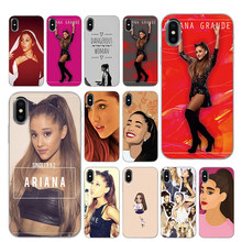 Ariana Grande สำหรับ Apple iPhone 5 5 S SE 6 6 s 7 8 Plus X XS Max XR ฝาครอบ(China)