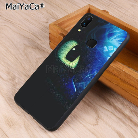 MaiYaCa Toothless Train Your Dragon black soft Phone Accessories Case for vivo v9 x20 x20plus x21 x21 ud nex Y83 v7 Y97 coque Islamabad
