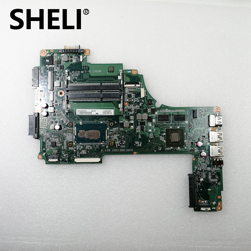 SHELI For <font><b>Toshiba</b></font> <font><b>Satellite</b></font> C50-C <font><b>C55</b></font>-C laptop <font><b>Motherboard</b></font> A000393940 DABLQMB16B0 with i3-4005U fully Tested image