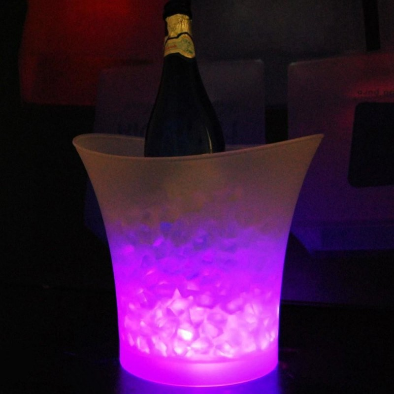 Bar 5 liters volume plastic led ice bucket color changing nightclubs bar 5 liters volume plastic led ice bucket color changing nightclubs led light ice bucket champagne wine beer ice bucket in ice buckets tongs from home aloadofball Image collections