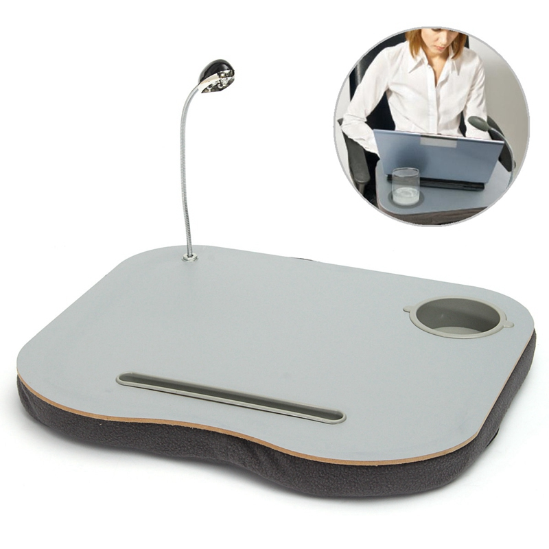 New Portable Laptop Desk Bed Laptop Cushion Knee Lap