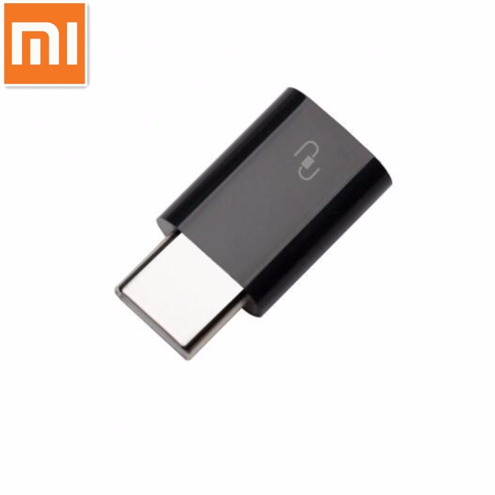 Original Xiaomi USB Type-C Adapter Micro USB Female to USB 3.1 Typec Type C Male Cable Converter Connector Fast Quick Charger(China)