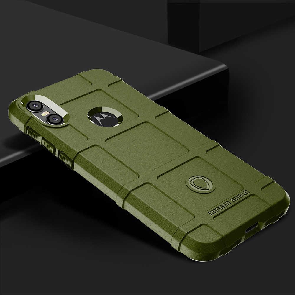 ソフトケースモト Z3 再生 G7 ケースシリコーンシールド鎧保護カバー Coque のためにモト 1 パワーアクション e6 プラスバンパー
