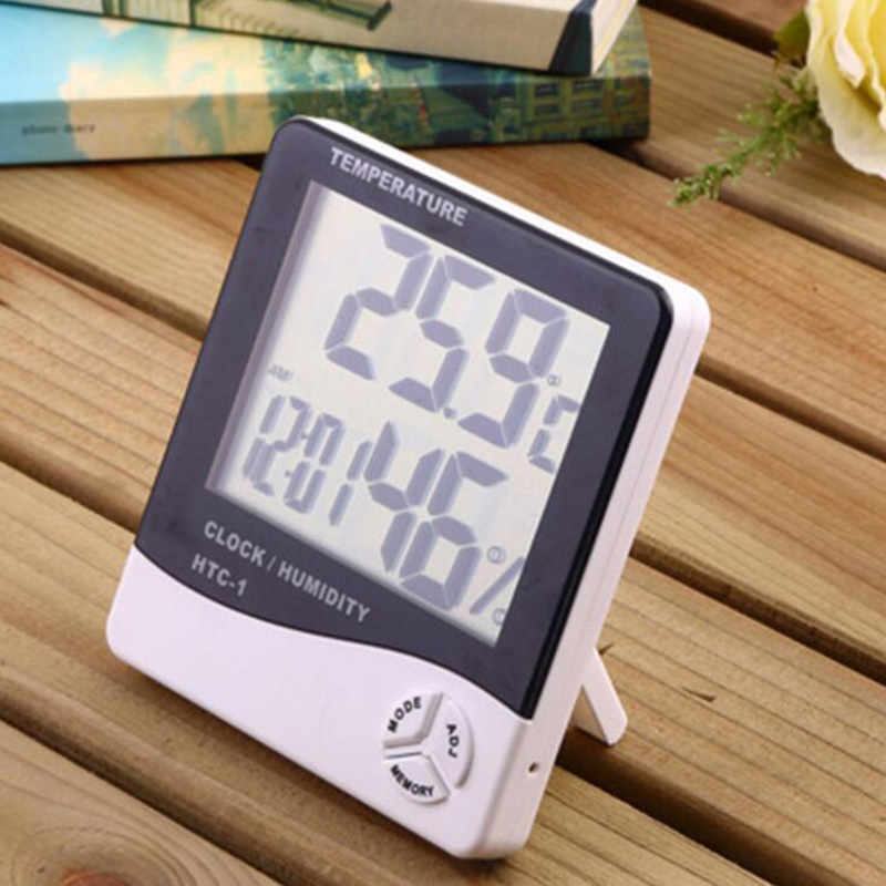 BEYLSION Digital Temperature Humidity Thermometer Hygrometer Electronic Thermometer Humidity Monitor For Plant Grow Lamp Tent (12)