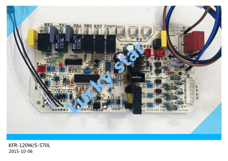97% new for Air conditioning computer board circuit board KFR-120W/S-570L PC board good working 100% new good working for air conditioning computer board kfr 120w s 520t2 kfr 75lw e 30 control board working