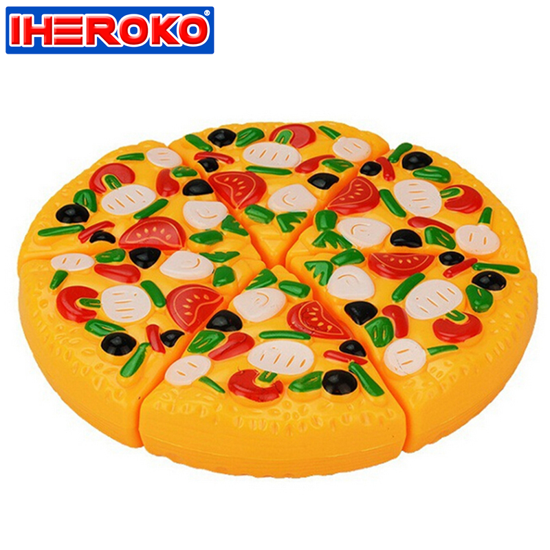 Abs Plastic Pizza Slices Toppings Simulation Children