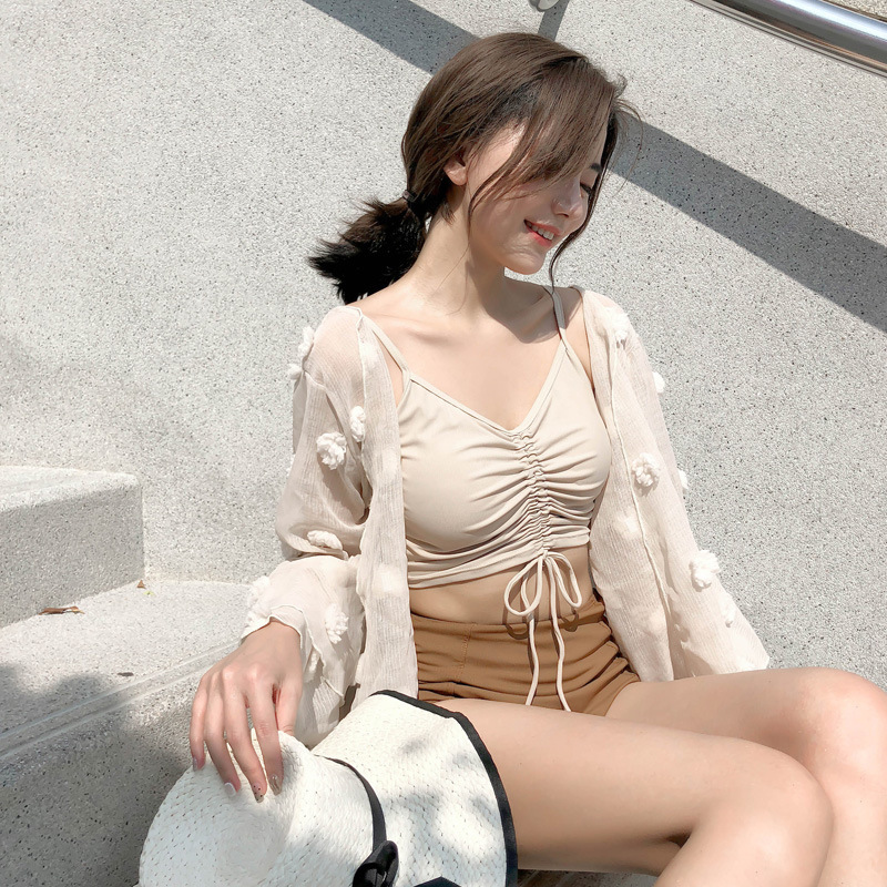Summer Swimsuits Trikini Women Two Piece Bathing Suit Woman Bikini Set Rashguard 2019 New Lady Lace Three Sexy Laced Delivery