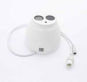 Image 5 - Caméra réseau dôme POE 6MP, microphone intégré, structure métallique, codec H.265, système infrarouge 50m, modèle IPC HDW4631C A remplaçant
