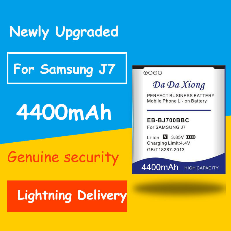 4400mAh EB-BJ700CBE/EB-BJ700BBC Battery for <font><b>Samsung</b></font> GALAXY J72015 J7009 J700F <font><b>SM</b></font>-J7008 J7000 J700F J701F J700M <font><b>J700H</b></font> ON7 G6000 image