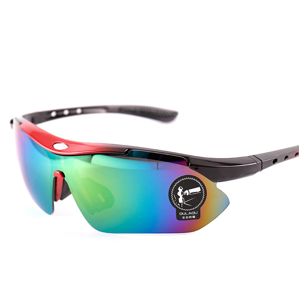 Unisex VU400 Polarized Cycling Sun Glasses Outdoor Sports Sunglasses Hiking Fishing Night Vision Bicycle Goggles Safety Eyewear happy hop надувной батут цитадель 3 в 1 9021
