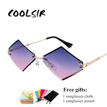 COOLSIR Sunglasses Women Men Fashion Glasses Brand Designer Metal Frame Sun Cool Retro uv400