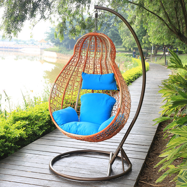 Rattan Basket Chair Hanging Swing Outdoor Balcony Single Hoist Lifts The  Hostel Dormitory