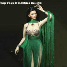 1/6 Evening Dress Female Clothes Set 1/6 Sezy Female Clothes Goddess of Life Dress Shawl for PH big breast action Figures body 1 6 scale woman dress zy toys zy5024 maid suit sexy female clothes set suitable for ph big breast action figures body