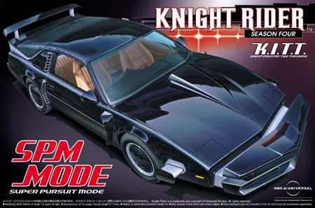 1/24 Knight Rider K.I.T.T. SPM MODU 043551/24 Knight Rider K.I.T.T. SPM MODU 04355