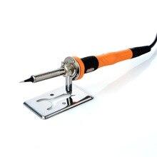 50x80 мм Простая подставка для паяльника y-типа Электрический паяльник опорная рама подставка очиститель Электрический Железный фитинги