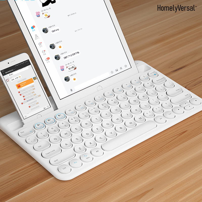 High Quality Slim Bluetooth Keyboard Mute Tablets And Smartphones Home Wireless Keyboard Style For IOS Android Windows