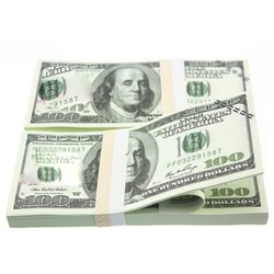10PCS/SET Unique American Gold Foil Dollar Banknote Fake Money Art Crafts Highly Collection Art Craft Supplies