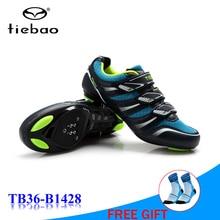 купить TIEBAO bicycle shoes road zapatillas hombre bisiklet womens athletic equitation men racing road bike shoe sapatilha ciclismo дешево