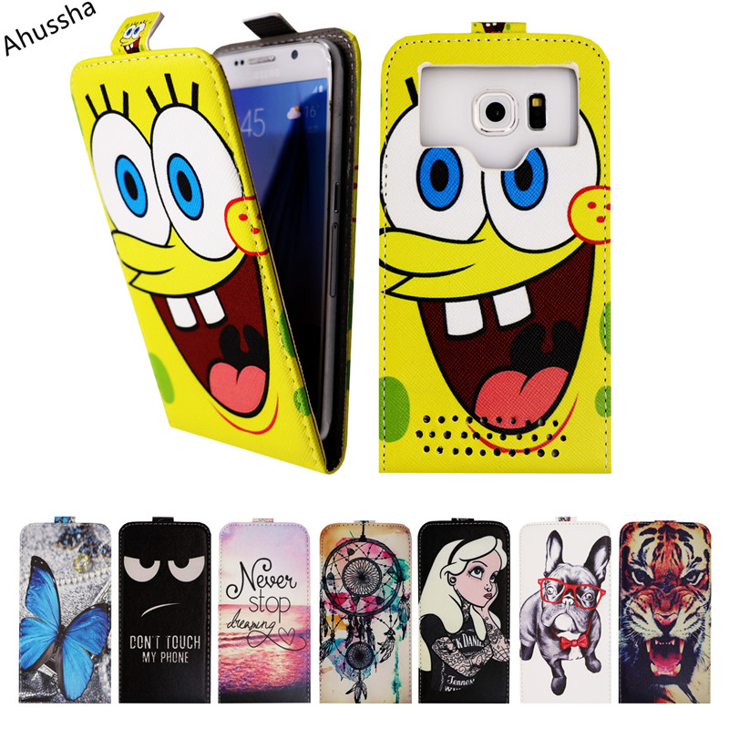 Newest Flip Printed 5 PU Leather Case For Fly IQ4505 Quad Era Life 7 IQ 4505 Cases Universal Cover Phone Bags,Gift, X1