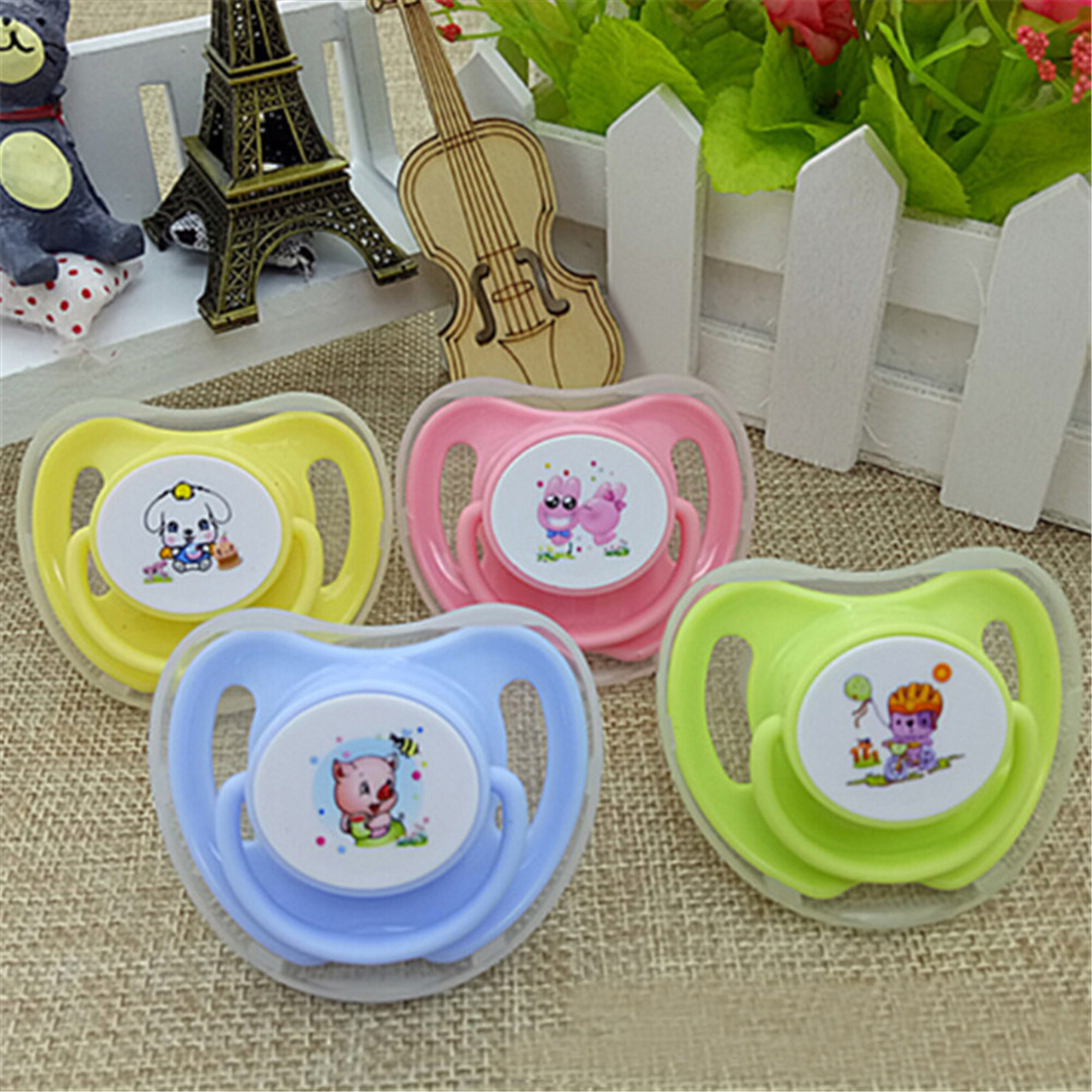 Infant Pacifier Butterfly Round Pacifiers Newborn Child Soother Silicone