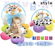 2016 Baby Chair For Baby Inflatable Sofa Flower cow Cute safety portable for feeding seat free shipping