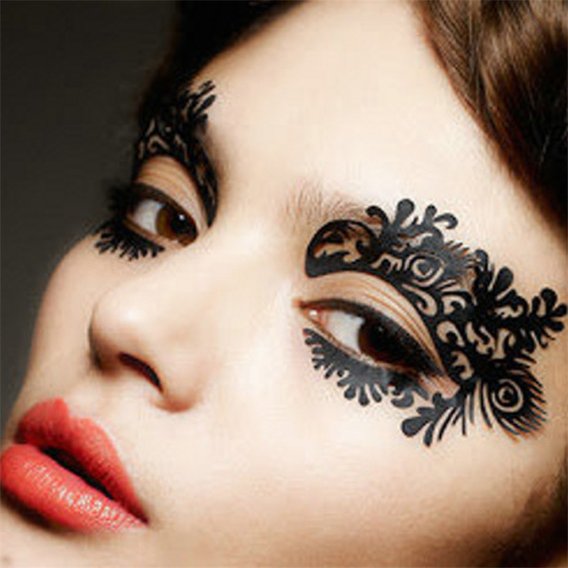 Beauty & Health Beauty Essentials 2017 1pair Flower Eye Stickers Eyeliner Luxury Paper Cutting False 2017 Hot Product Discount With The Most Up-To-Date Equipment And Techniques