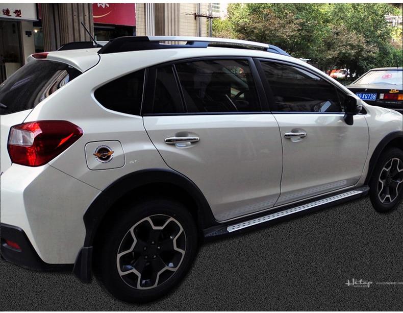estribo lateral da barra nerf para o Subaru XV XV XV Crosstrek - Peças auto - Foto 6