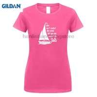 GILDAN T Shirts Casual Brand Clothing Cotton 6tn Womens You Can T Control The Wind But