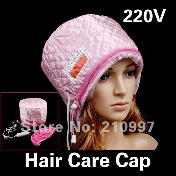 Free Shipping Hair Care SPA Cap Hair Thermal Treatment New Beauty Steamer Nourishing Hat