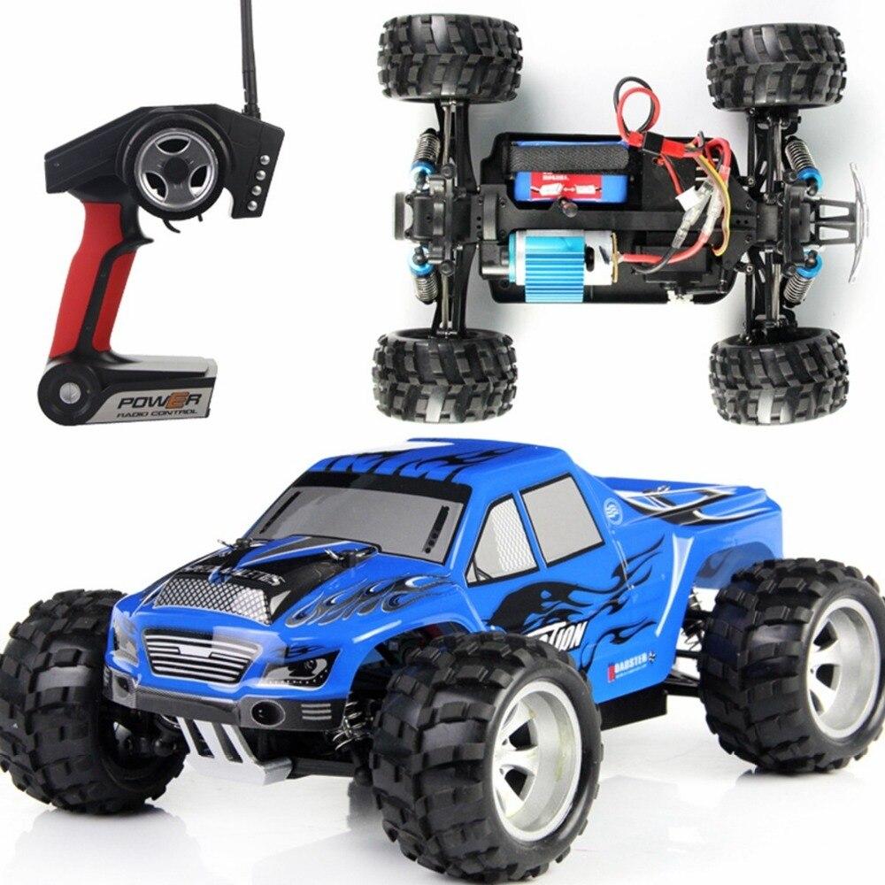 Оптовая продажа WLtoys A979 1/18 2.4 ГГц 4WD Монстр RC гоночный автомобиль Дистанционное управление автомобилей Радио-Управление LED машин RC автомобиль