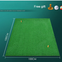 100x100x1cm Backyard Golf Mat Indoor Residential Training Hi