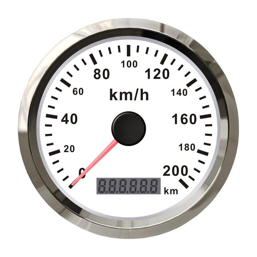 AUTOOL Universal Auto GPS Speedometer 200km/h 85mm Waterproof ...