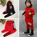 Autumn Winter Boy Set Spaideman Children Tracksuit Kids Clothing Suits Boys and Girls 2PCS Hoodie Coat Trousers