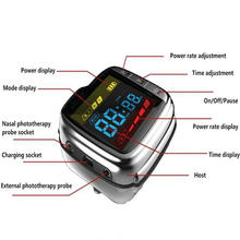 Otitis media treatment semiconductor laser therapy watch 650 nm cold acupuncture physical equipment
