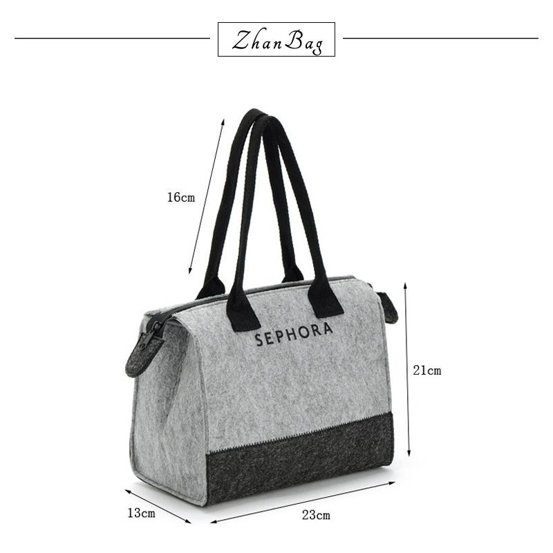 386f32b9b5 2018 Felt Handbag Women Bags Designer Luxury Famous Brands Ladies ...