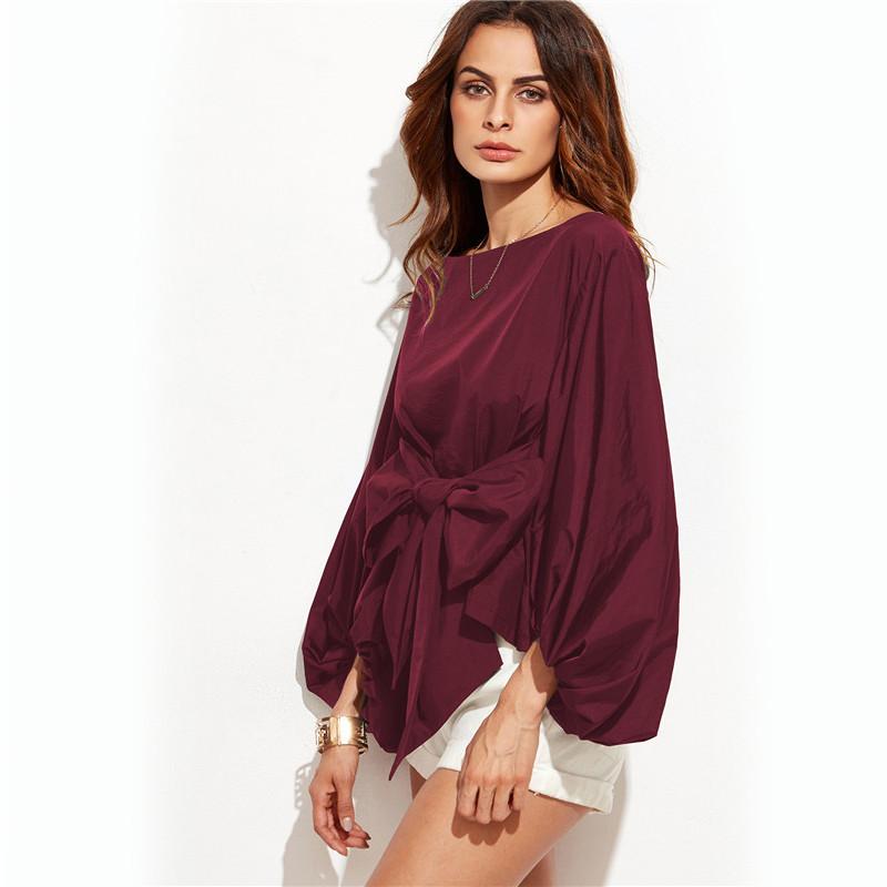 HTB133GVNVXXXXbqXXXXq6xXFXXXH - Shirts Women Tops Long Sleeve Lantern Sleeve Blouse