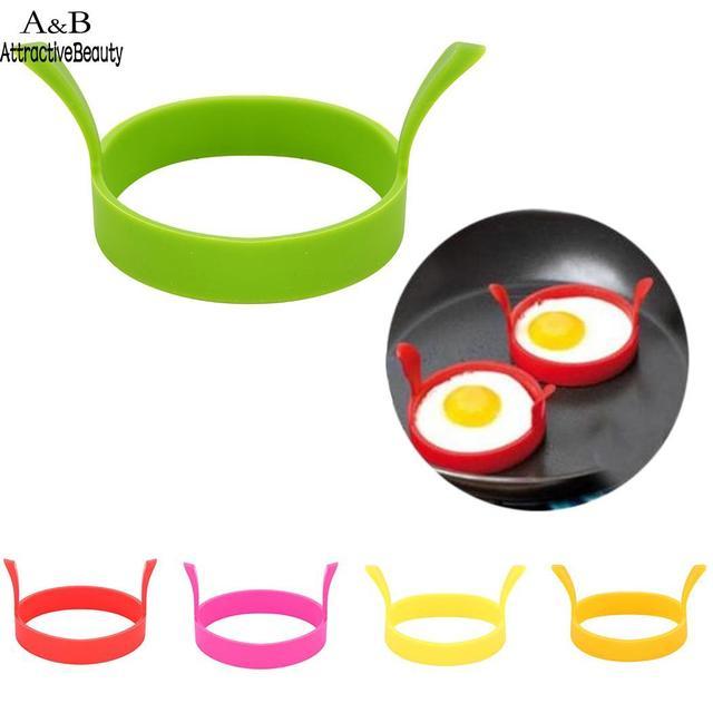 Кольцо яйцо инструмент температура высокой Формы Кухня омлет круглый