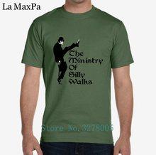Criatura Homem Tshirt Bonito Popular O Ministério De Caminhadas Parvas T- Shirt para Os Homens Camisa Dos Homens T 2018 Plus Size. 12f5439cb34bd