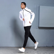 BINTUOSHI Mens Sports Suits Zipper Sportswear Training Clothes Workout Jogging Clothing Tracksuit