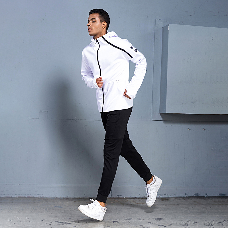 BINTUOSHI Mens Sports Suits Zipper Sports Men's Sportswear Suits Training Clothes Workout Jogging Sports Clothing Tracksuit