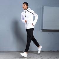 BINTUOSHI Mens Sports Suits Zipper Sports Men's Sportswear Suits Training Clothes Workout Jogging Sports Clothing Tracksuit
