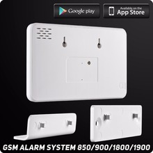 Wireless Wired GSM Home Security Alarm System  l ISO Android APP TFT Touch Panel Security Alarm System Wifi IP Camera