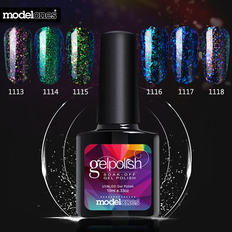 Gelaxy Gel Nail Polish: Aliexpress.com : Buy Modelones Shiny Galaxy Nail Gel