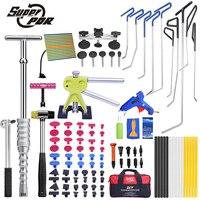 PDR крюк Инструменты толкателей Дент удаления Инструменты Paintless Дент Ремонт Инструменты автомобиля Средства ухода за кожей Дент комплект дл