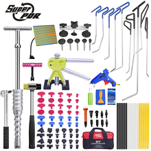 PDR Hook Tools Push Rods Dent Removal Tools Paintless Dent Repair Tools Car Body Repair Kit
