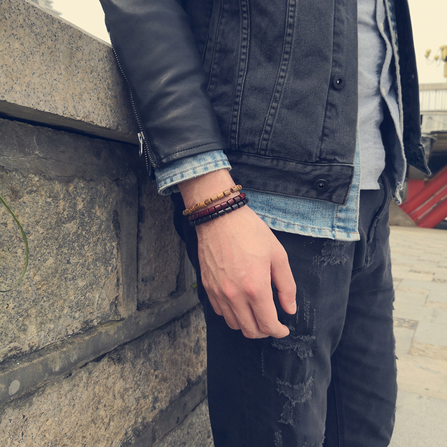 Bracelet Bois Perle