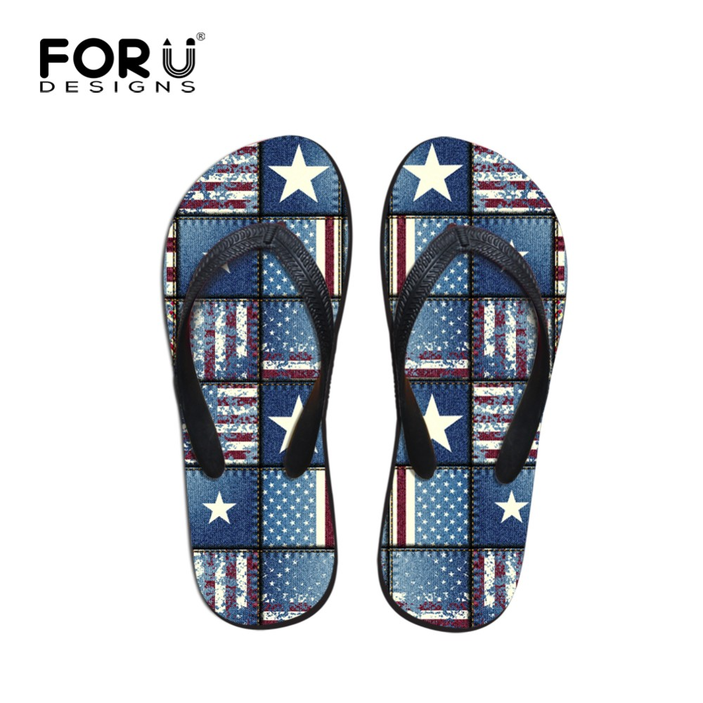 Other Official Website Forudesigns Cartoon Dolphin Print Mens Flip Flops Summer Beach Slippers Male Flat Anti-slip House Flipflops Zapatos De Hombre