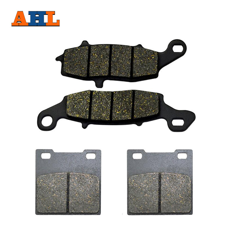 AHL Motorcycle Front And Rear Brake Pads For SUZUKI GS 500 GS500 1996-2010 180 16 9 fast fold front and rear projection screen back