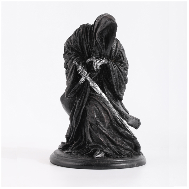 Anime Movie Garage Kit Classic The Lord Of Rings Witch-king Of Angmar Doll Action Figure Model Loose Toy Resin Statue Collecti Novelty & Special Use